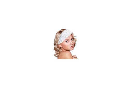 Fascia per capelli in tnt monouso