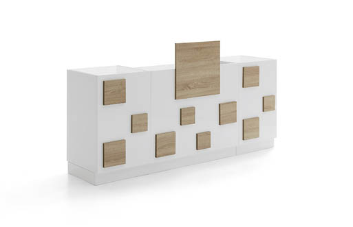 Reception-cube